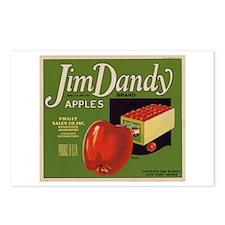 Jim Dandy Apples Postcards (Package of 8)
