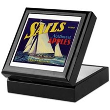 Sails Brand Northeast Apples Keepsake Box