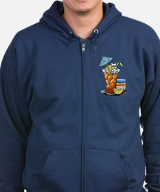 West Highland Iced Tea Zip Hoodie