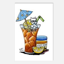 West Highland Iced Tea Postcards (Package of 8)