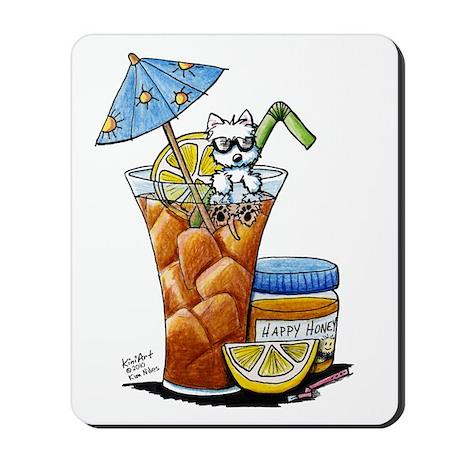 West Highland Iced Tea Mousepad