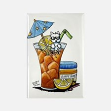 West Highland Iced Tea Rectangle Magnet