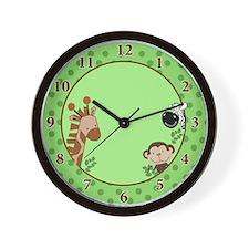 Jungle Adventure Safari Wall Clock
