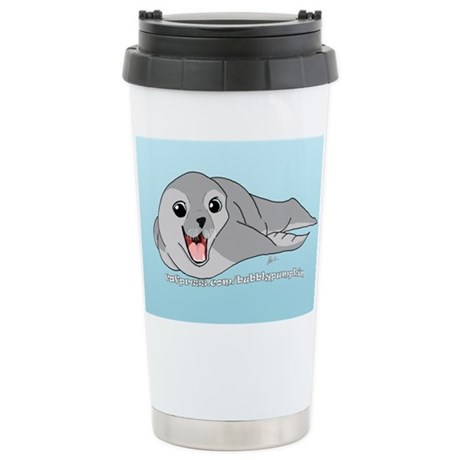 Bubblypumpkin Stainless Steel Travel Mug