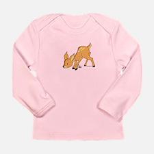 Bubblypumpkin Long Sleeve Infant T-Shirt