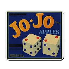 Jo-Jo Apples Mousepad