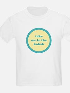 Kabah Kids T-Shirt (yellow + turquoise)