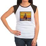 Buckaroo Apples Women's Cap Sleeve T-Shirt