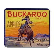 Buckaroo Apples Mousepad