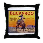 Buckaroo Apples Throw Pillow