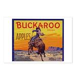 Buckaroo Apples Postcards (Package of 8)