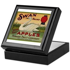 Swan Apples Keepsake Box