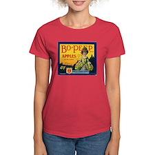 Bo-Peep Apples Women's Dark T-Shirt