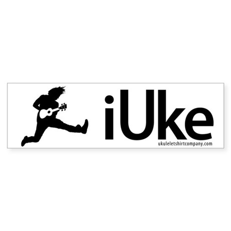 iUke Products Sticker (Bumper)