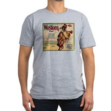 Western Yakima Valley Fruit Men's Fitted T-Shirt (