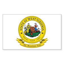 West Virginia Seal Decal
