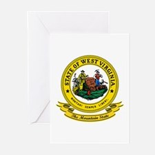 West Virginia Seal Greeting Cards (Pk of 10)