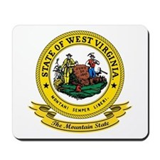 West Virginia Seal Mousepad