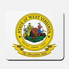 West Virginia Seal Mousepad