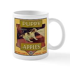 Puppy Apples Mug