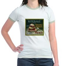 Ritebake Yakima Apples Jr. Ringer T-Shirt