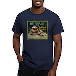 Ritebake Yakima Apples Men's Fitted T-Shirt (dark)