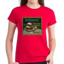 Ritebake Yakima Apples Women's Dark T-Shirt