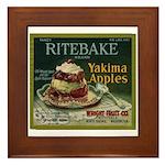Ritebake Yakima Apples Framed Tile