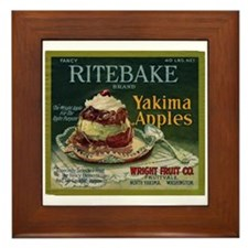 Ritebake Yakima Apples Framed Tile