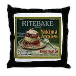 Ritebake Yakima Apples Throw Pillow