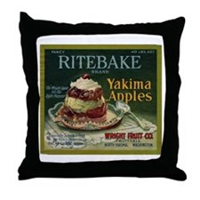 Ritebake Yakima Apples Throw Pillow