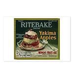 Ritebake Yakima Apples Postcards (Package of 8)