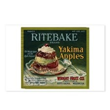 Ritebake Yakima Apples Postcards (Package of 8)