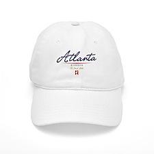 Atlanta Script Baseball Cap