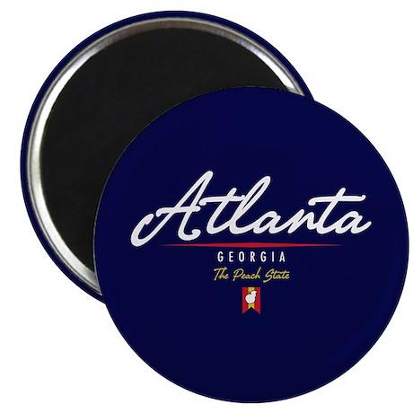 Atlanta Script Magnet