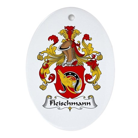 Fleischmann Ornament (Oval)