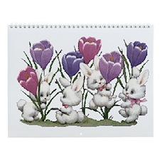 Cute Animal Wall Calendar