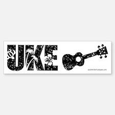 The Uke Bumper Bumper Sticker