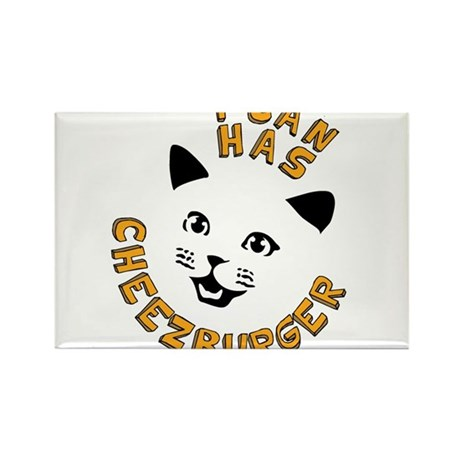 I Can Has Cheezburger Rectangle Magnet (10 pack)