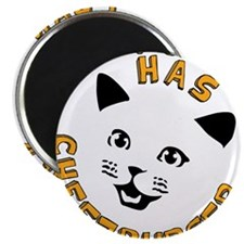 """I Can Has Cheezburger 2.25"""" Magnet (100 pack)"""