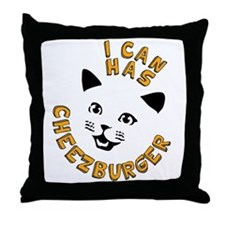 I Can Has Cheezburger Throw Pillow
