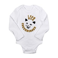 I Can Has Cheezburger Long Sleeve Infant Bodysuit