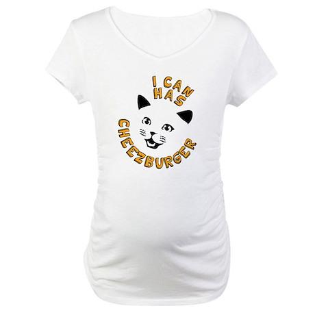 I Can Has Cheezburger Maternity T-Shirt