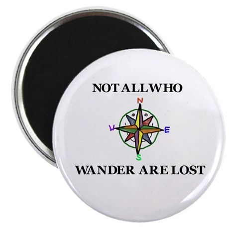 All Who Wander Magnet