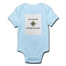 All Who Wander Infant Bodysuit
