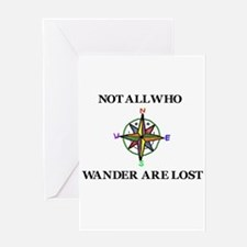 All Who Wander Greeting Card