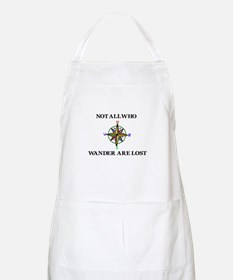All Who Wander Apron