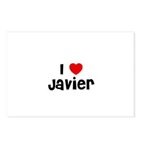 I * Javier Postcards (Package of 8)