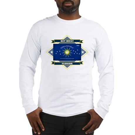 Key West Flag Long Sleeve T-Shirt