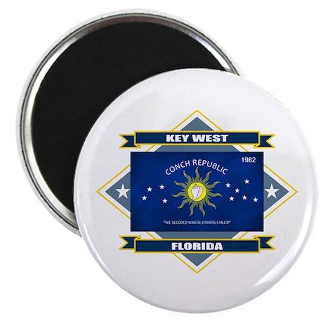 Key West Flag Magnet